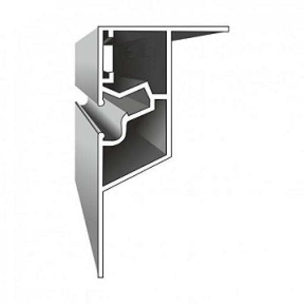 Aluminium Profil KP2 ( geschnitten)