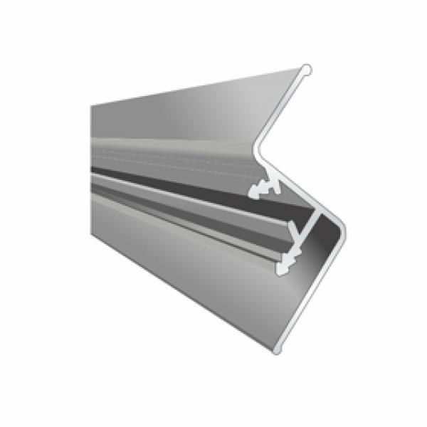 Aluminum Profil fur schwebende Decke№1 2,5m (mit Einsatz )
